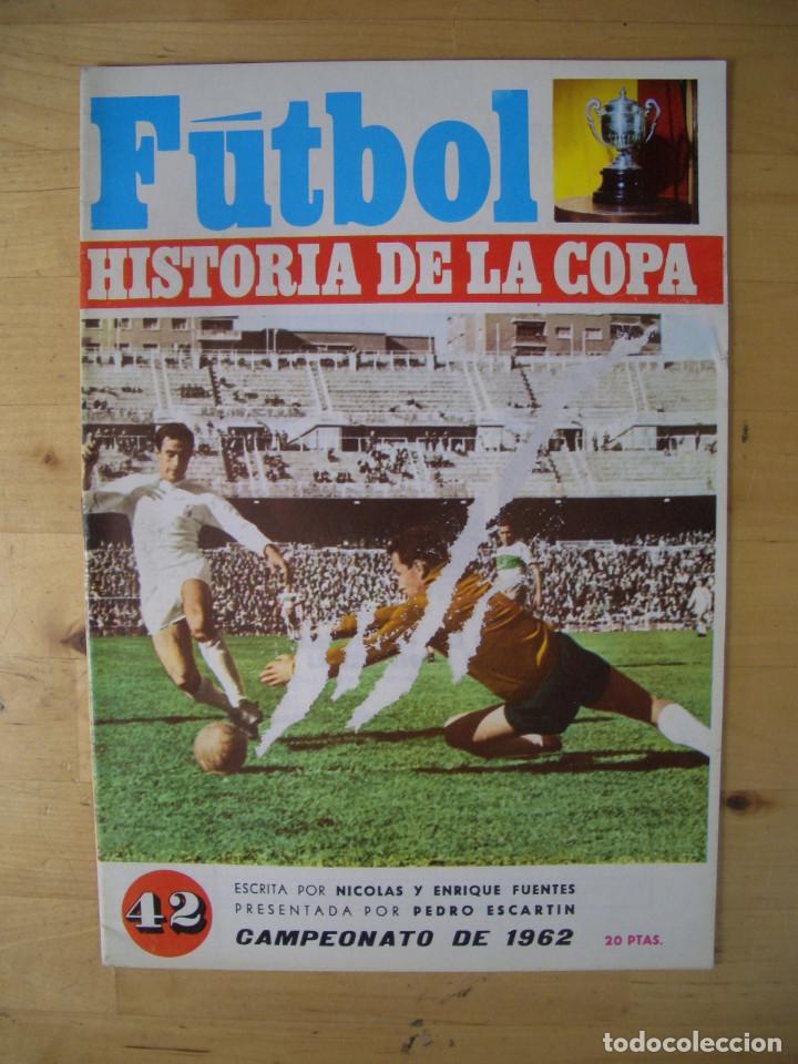 Coleccionismo deportivo: LOTE REVISTA FASCICULO FUTBOL HISTORIA DE LA COPA 16 EJEMPLARES NICOLAS FUENTES 1970 - Foto 4 - 208145878