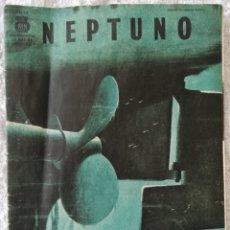 Coleccionismo deportivo: REVISTA NEPTUNO - AGOSTO 1944, Nº 53 - 2ª GUERRA MUNDIAL - 24 CM X 16 CM - 31 PÁGINAS. Lote 208168590