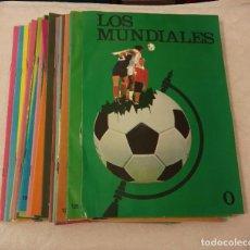 Coleccionismo deportivo: -COLECCIONABLE MUNDIALES FUTBOL . COMPLETO 30 FASCICULOS , DATOS FOTOS ETC PELE CRUYFF. Lote 208184641