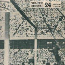 Coleccionismo deportivo: REVISTA BARÇA: NÚMERO ESPECIAL SOBRE LA INAUGURACIÓN DEL CAMP NOU. 1957. Lote 208374737