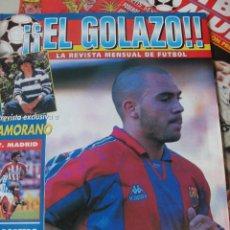 Coleccionismo deportivo: EL GOLAZO 1995 / Nº 3 - SIN PÓSTER / KIKO NARVAEZ - ZAMORANO - DE LA PEÑA - ALFONSO - ARANZABAL. Lote 208403055
