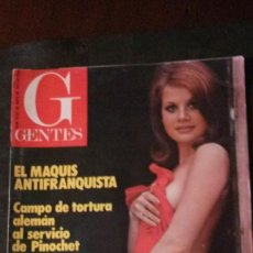 Collezionismo sportivo: GENTES Nº 41-1977-PEREIRA-ATLÉTICO DE MADRID-KATE JACKSON-ANGIE DICKINSON-LINDSAY WAGNER-EL MAQUIS. Lote 208442932
