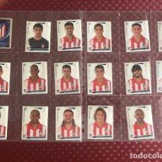 Coleccionismo deportivo: ATLETICO DE MADRID CHAMPIONS LEAGUE 2009-20010 PANINI EQUIPO COMPLETO. Lote 208787630