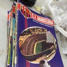 Collectionnisme sportif: COLECCION 40 EJEMPLARES BOLETIN OFICIAL F.C BARCELONA DE 1970-74 - VER FOTOS. Lote 208861360