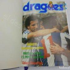 Coleccionismo deportivo: REVISTA DRAGÕES. FC PORTO. TOMO ENCUADERNADO 1985. AÑO COMPLETO. Lote 208925263