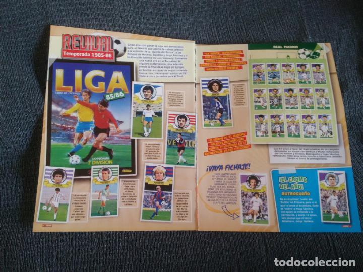 REVIVAL LIGA 1985-1986 REAL MADRID 85-86 HUGO SÁNCHEZ BUTRAGUEÑO SCHUSTER KEMPES 2 PÁG REVISTA JUGÓN (Coleccionismo Deportivo - Revistas y Periódicos - otros Fútbol)