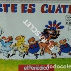Coleccionismo deportivo: REVISTA DEL PERIODICO - ESTE ES CUATRO -. Lote 209029491