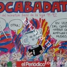 Coleccionismo deportivo: REVISTA DEL PERIODICO - LIGA 91 - 92 - BOCABADATS -. Lote 209029658