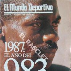 Coleccionismo deportivo: DIARIO EL MUNDO DEPORTIVO- ESPECIAL FEBRERO 1988 - 1988- EL AÑO DEL 983 -. Lote 209031537