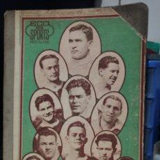 Coleccionismo deportivo: LIBRO ENCUADERNADO REVISTAS ECO DOS SPORTS MAYO /SETIEMBRE 1927.. Lote 209041502