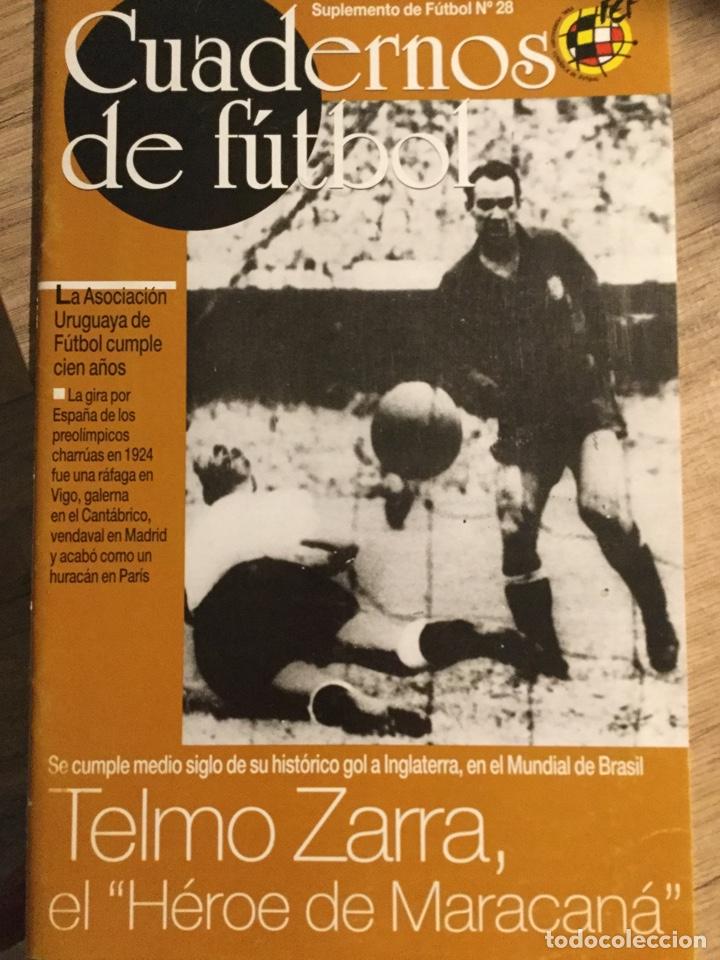 CUADERNOS DE FÚTBOL - TELMO ZARRA- (Coleccionismo Deportivo - Revistas y Periódicos - otros Fútbol)