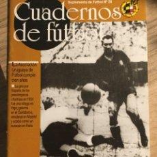 Collectionnisme sportif: CUADERNOS DE FÚTBOL - TELMO ZARRA-. Lote 209062550