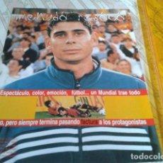 Coleccionismo deportivo: RECORTE HOJA PAGINA REVISTA POSTER PUBLICIDAD( FERNANDO HIERRO - MENUDA RESACA ). Lote 209276882