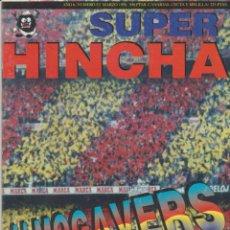 Collectionnisme sportif: REVISTA SUPER HINCHA 52 MARZO 1998 ULTRAS HOOLIGANS. Lote 217740185