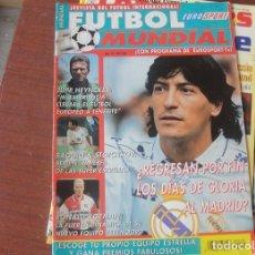 Coleccionismo deportivo: EUROSPORT FUTBOL MUNDIAL / REAL MADRID / KOEMAN / HIGUITA FREDDY RINCON / VALDANO / BAGGIO / KEEGAN. Lote 210046885
