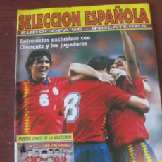 Coleccionismo deportivo: REVISTA GOLAZO EXTRA SELECCION ESPAÑOLA EURO 96 / SUPER POSTER - RAUL - HIERRO - ENVIO GRATIS. Lote 210113766