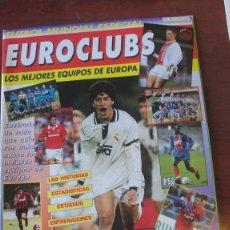 Coleccionismo deportivo: EURO CLUBS 24 MEJORES EQUIPOS DE EUROPA / MADRID MILAN BARÇA AJAX PSG PSV BAYERN BENFICA 1995. Lote 210115038