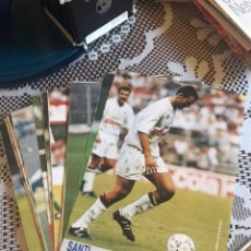 Coleccionismo deportivo: LOTE 28 FICHAS PÓSTER JUGADORES LIGA 1993/94 DIARIO 16. Lote 210225222