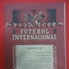 Coleccionismo deportivo: FUTBOL. PORTUGAL-ESPAÑA. REVISTA Nº ÚNICO. ENERO 1947. IDIOMA PORTUGUÉS. Lote 210309635