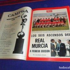 Coleccionismo deportivo: BLANCO Y NEGRO AÑO 1973. REAL MURCIA SUBE A 1ª DIVISIÓN, CATHERINE DENEUVE, EL TANGO. MBE.. Lote 210438301