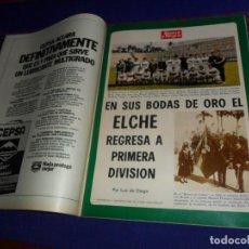 Coleccionismo deportivo: BLANCO Y NEGRO AÑO 1973. ELCHE CF A 1ª DIVISIÓN, EMMA COHEN, MÁS ALLÁ DE LA LUNA. MBE.. Lote 210438637