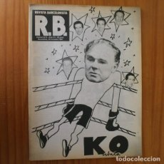 Coleccionismo deportivo: RB REVISTA BARCELONISTA 813, OCTUBRE 1980. KUBALA, SCHUSTER... BARÇA FUTBOL CLUB BARCELONA. Lote 210534736