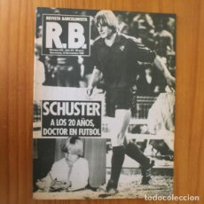 Coleccionismo deportivo: RB REVISTA BARCELONISTA 815, NOVIEMBRE 1980. SCHUSTER, JAUME AMAT... BARÇA FUTBOL CLUB BARCELONA. Lote 210534757