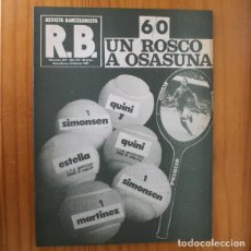 Collectionnisme sportif: RB REVISTA BARCELONISTA 827, FEBRERO 1981. UN ROSCO EN OSASUNA, QUINI... BARÇA FUTBOL CLUB BARCELONA. Lote 210534958