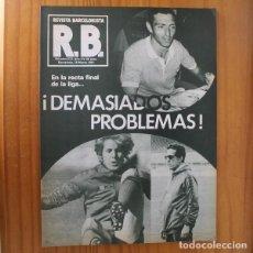 Coleccionismo deportivo: RB REVISTA BARCELONISTA 833, 18 MARZO 1981. SALAMANCA, MARTINEZ... BARÇA FUTBOL CLUB BARCELONA. Lote 210536141