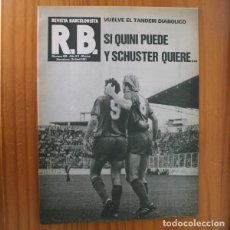 Coleccionismo deportivo: RB REVISTA BARCELONISTA 836, 15 ABRIL 1981. QUINI, SCHUSTER, ALMERIA... BARÇA FUTBOL CLUB BARCELONA. Lote 210536162