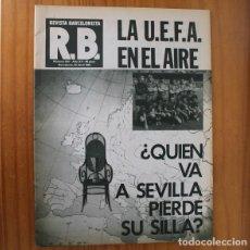 Coleccionismo deportivo: RB REVISTA BARCELONISTA 837, 22 ABRIL 1981. UEFA, ATHLETIC BILBAO, REIXACH... BARÇA FUTBOL CLUB BARC. Lote 210536176