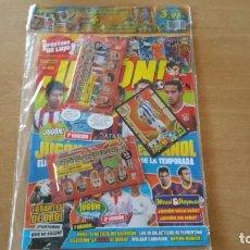 Coleccionismo deportivo: REVISTA JUGON 90 PRECINTADO MARTINEZ ED. ESPECIAL + 18 CROMOS MERCADO INVIERNO. Lote 177668842