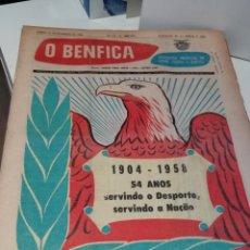 Coleccionismo deportivo: LOTE DE 70 PERIODICOS SEMANALES (791-861) O BENFICA. SPORT LISBOA E BENFICA. DEPORTE PORTUGUES. Lote 210667697