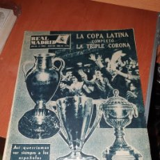 Collectionnisme sportif: REVISTA REAL MADRID N° 84 DE 1957. Lote 210784431