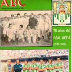 Coleccionismo deportivo: ABC REAL BETIS. Lote 211405836