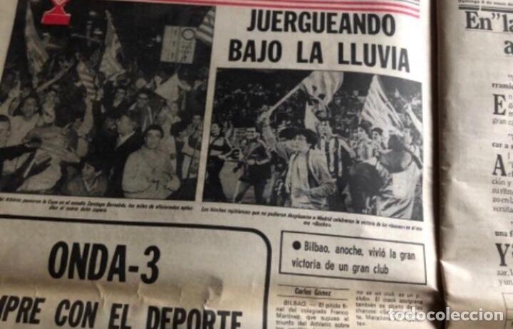 Coleccionismo deportivo: ATHLETIC CLUB BILBAO, ¡¡TRICAMPEONES!!. LA GACETA DEL NORTE 6/5/1984. - Foto 4 - 211442670