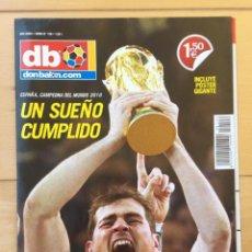 Coleccionismo deportivo: REVISTA-PÓSTER GIGANTE 'DON BALÓN' ESPAÑA CAMPEÓN MUNDIAL SUDÁFRICA 2010. Lote 211466427