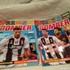 Coleccionismo deportivo: REVISTAS ITALIANAS BOMBER DE FÚTBOL CON POSTERS INCLUIDOS. Lote 211480306