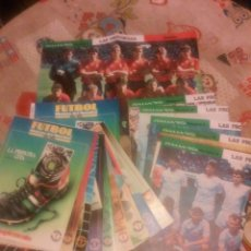 Collectionnisme sportif: HISTORIA MUNDIAL DE FUTBOL. Lote 211589741