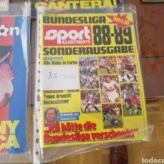 Coleccionismo deportivo: EXTRA FÚTBOL ALEMANIA 1988 89. SPORT, MUY COMPLETO CON FOTOS Y DATOS.. Lote 211733833