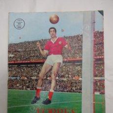 Coleccionismo deportivo: TORRES. O GIGANTE DO BENFICA. FUTBOLISTA BENFICA. AÑOS 1960S. REVISTA MONOGRÁFICA. Lote 211792611