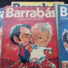 Collectionnisme sportif: LOTE DE 28 REVISTAS BARRABÁS | HUMOR GRÁFICO DEPORTIVO DIVERTIDISIMAS AÑOS 1970,S. Lote 212498510