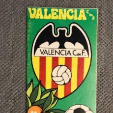 Collezionismo sportivo: FÚTBOL VALENCIA CF. PROGRAMA OFICIAL (10/11/74) VALENCIA C DE F - HÉRCULES C. DE F.. Lote 212845128