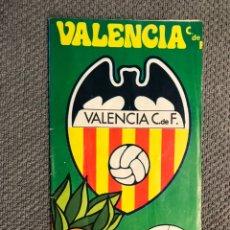 Collezionismo sportivo: FÚTBOL VALENCIA CF. PROGRAMA OFICIAL (23/08/74) VALENCIA C.DE F. PSV EINDHOVEN. Lote 212845293