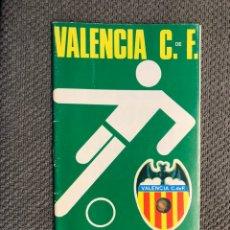 Collezionismo sportivo: FÚTBOL VALENCIA CF. PROGRAMA OFICIAL (27/02/74) VALENCIA C. DE F. - ELCHE C. DE F.. Lote 212845625