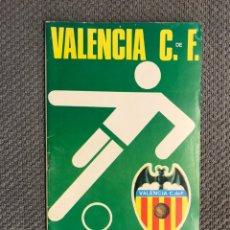 Collezionismo sportivo: FÚTBOL VALENCIA CF. PROGRAMA OFICIAL (02/12/72) VALENCIA C. DE F. - GRANADA C. DE F.. Lote 212845973