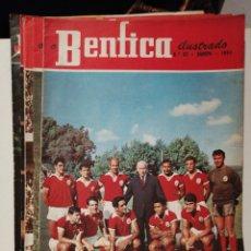 Coleccionismo deportivo: LOTE DE 15 REVISTAS O BENFICA ILUSTRADO. Lote 213003970