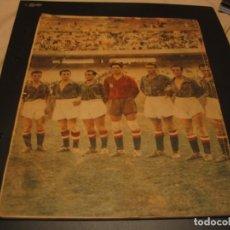 Collectionnisme sportif: REVISTA MAGAZINE DEL CAMPEONATO MUNDIAL DE FUTBOL 1950 FATIGADO. Lote 213546198