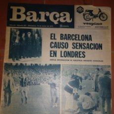 Coleccionismo deportivo: REVISTA BARÇA 19 MARZO 1974. Lote 213895821