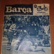 Coleccionismo deportivo: REVISTA BARÇA 12 MARZO 1974. Lote 213895965